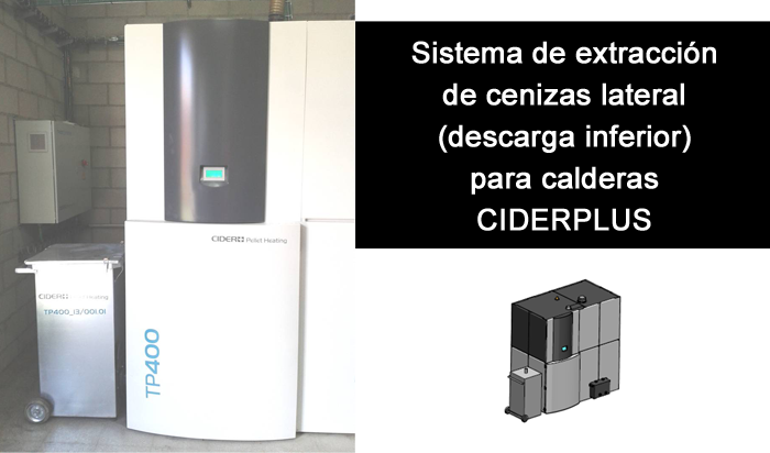 Caldera CIDERPLUS Pellets Heating TP400